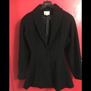Zion-BLACK 100% Wool Jacket